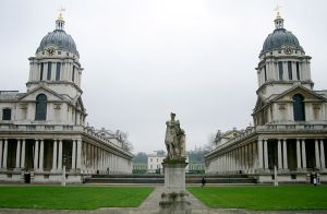 The Old Royal Naval College in Greenwich