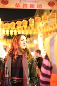 Eloise de Fine in Chinatown - picture by Jessy Boon Cowler
