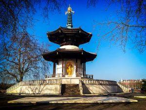The Battersea Peace Pagoda