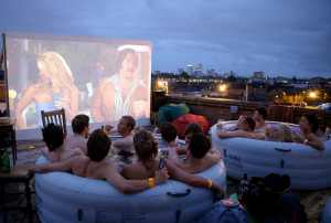 Hot Tub Cinema
